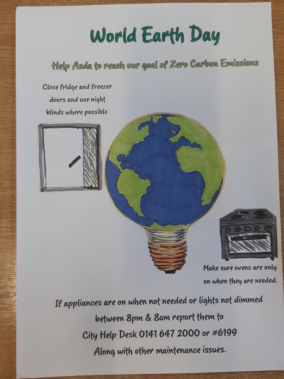 Doing our bit on World Earth Day | Asda Wolstanton