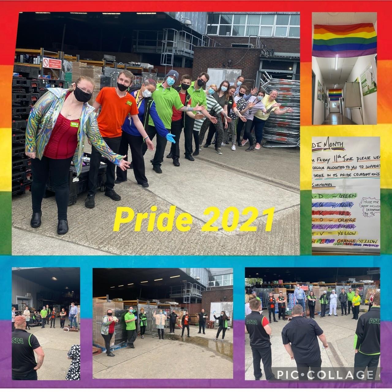 Supporting Pride month   Asda Gosport