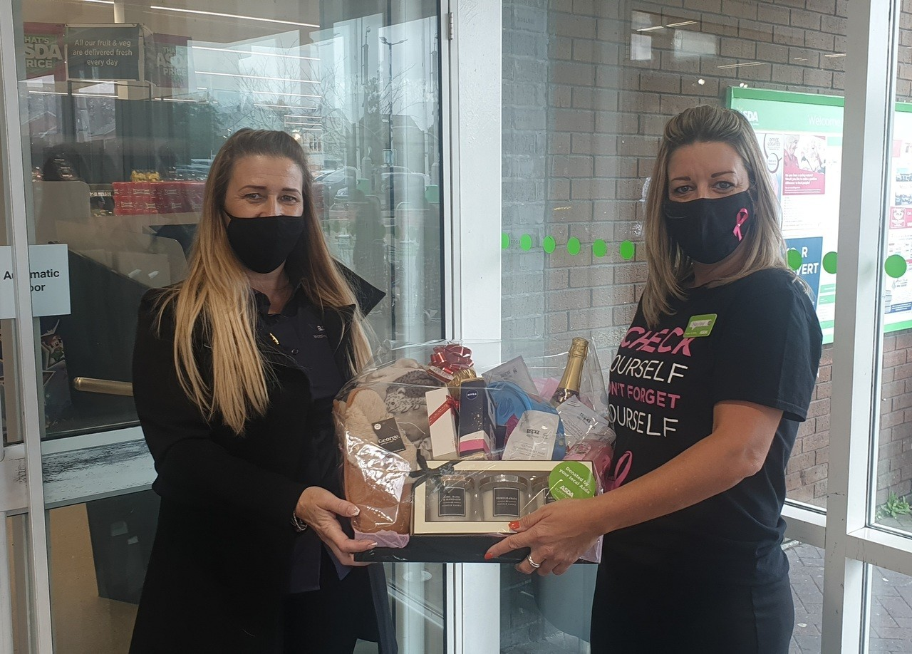 Raffle prize Donation | Asda Sutton in Ashfield