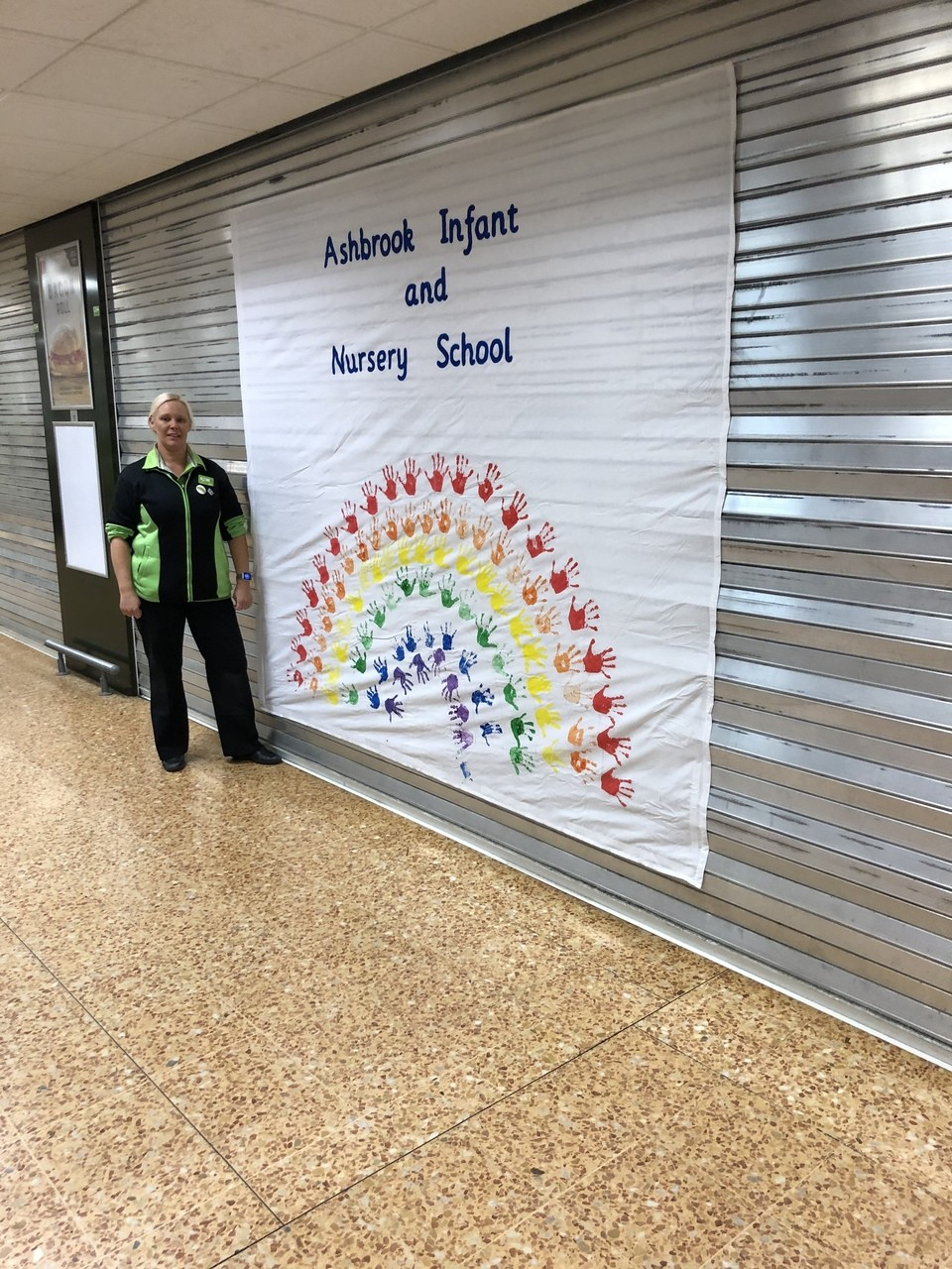 Thank you for our rainbow | Asda Derby