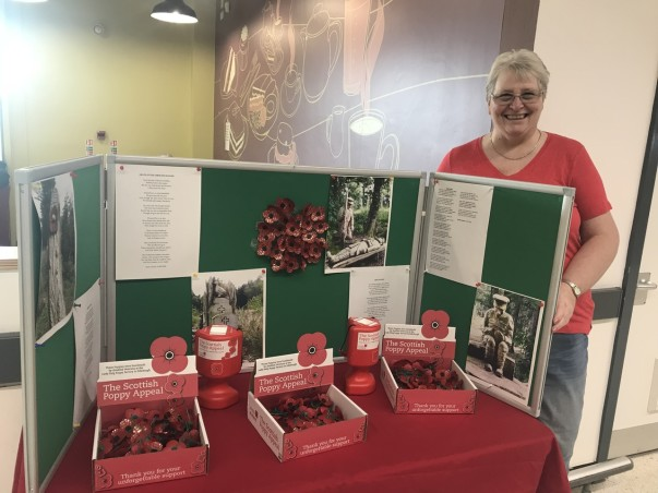 Poppy Appeal at Asda Ayr