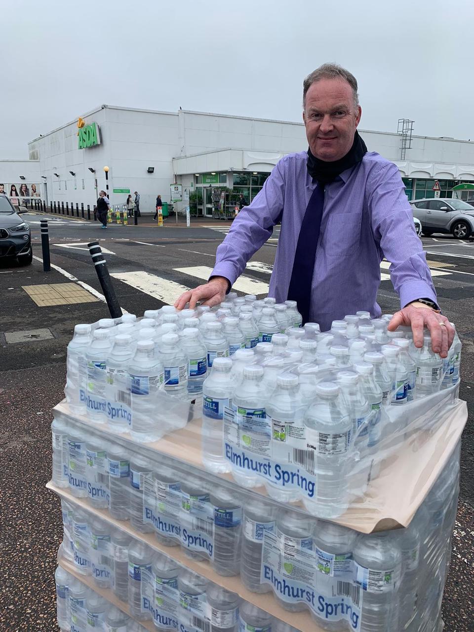 Water, water everywhere! | Asda Dundee Kirkton