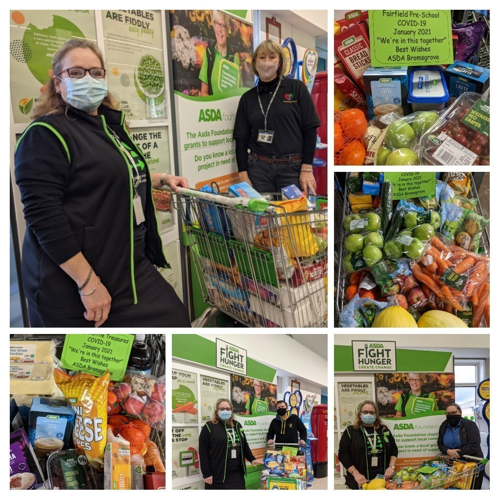 Donation to local pre-schools | Asda Bromsgrove