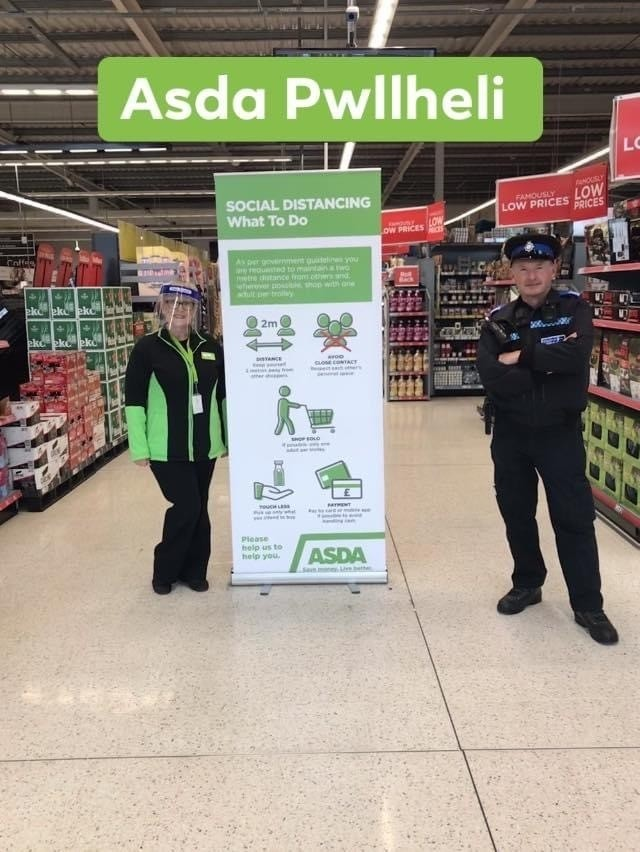 Support from the police | Asda Pwllheli