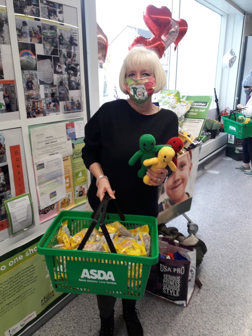 Donation to Townswomen's Guild | Asda Sedgley