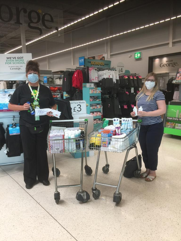 Positive Steps donations | Asda Dundee West