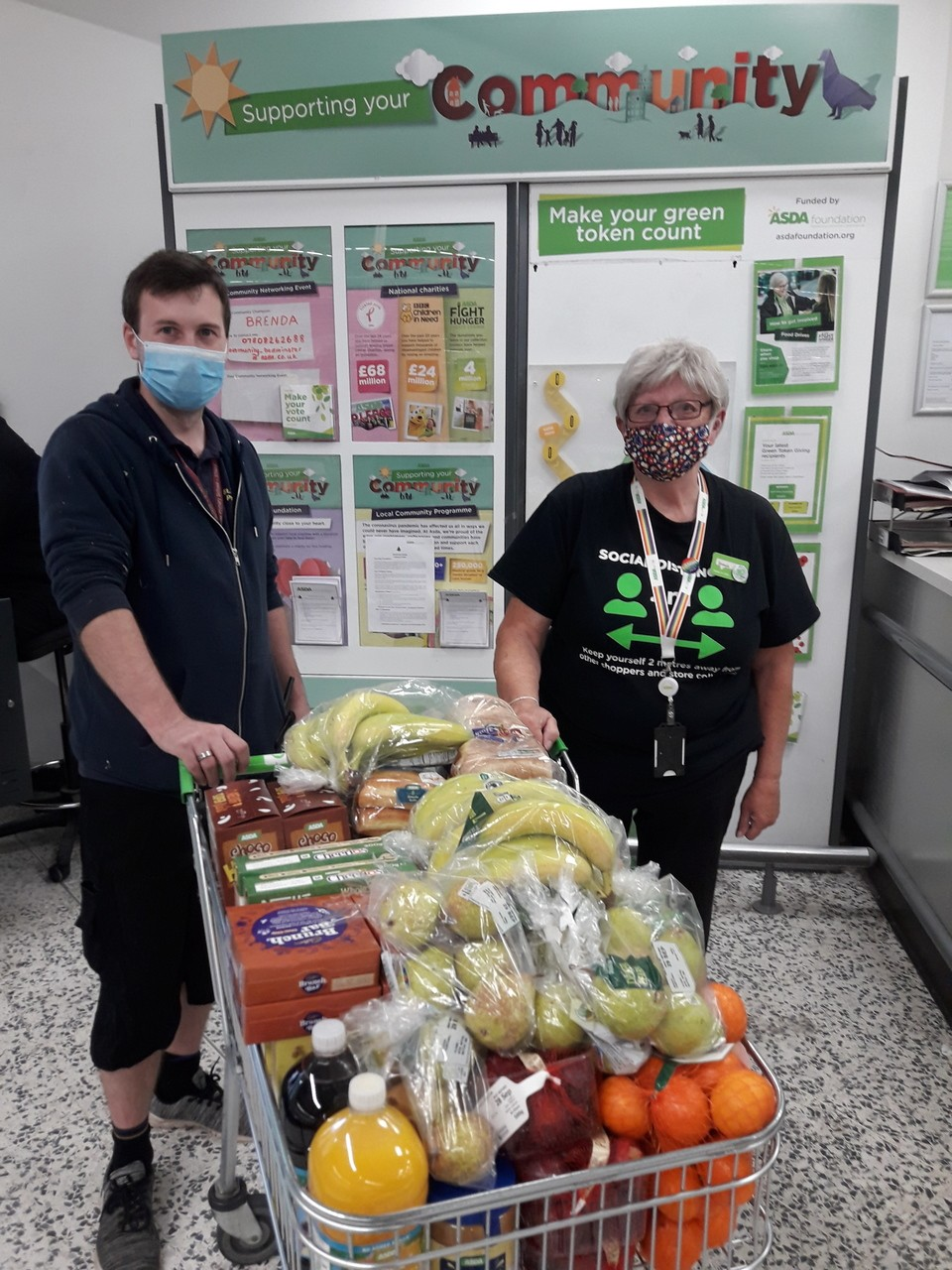 St Mary Redcliffe School donation | Asda Bedminster