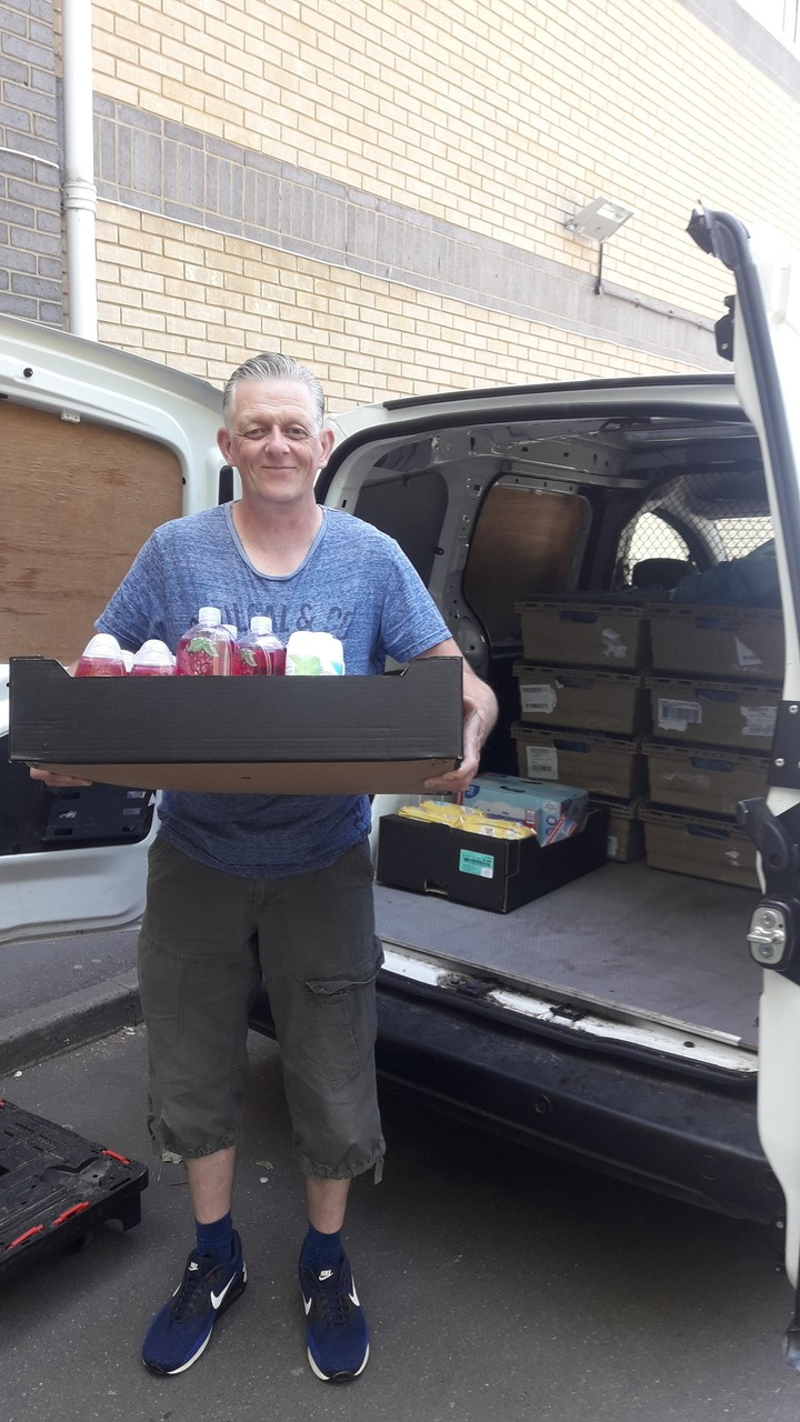 Donation to Hampshire Food Revolution Project  | Asda Fareham