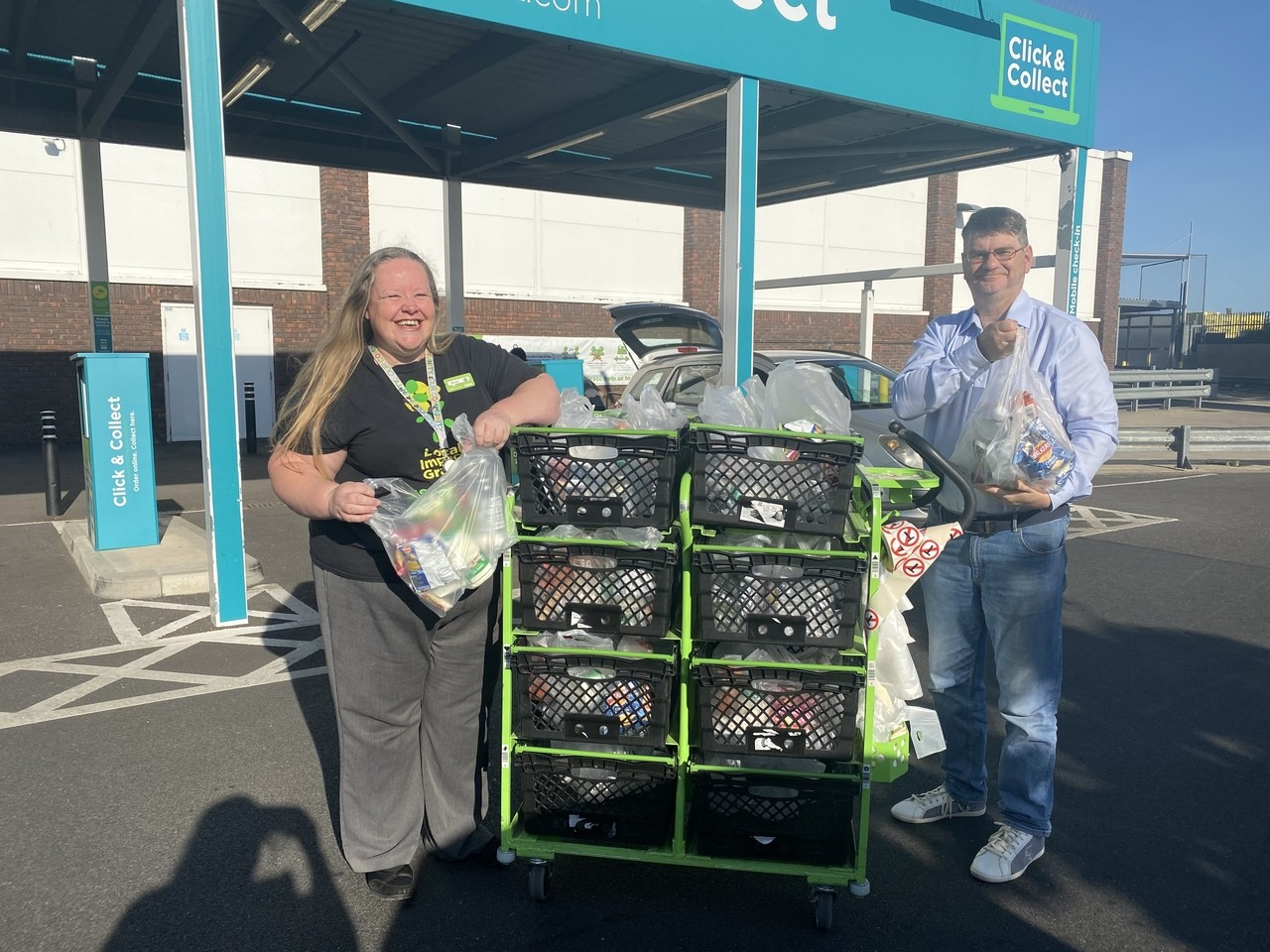 Helping the homeless | Asda Gosport