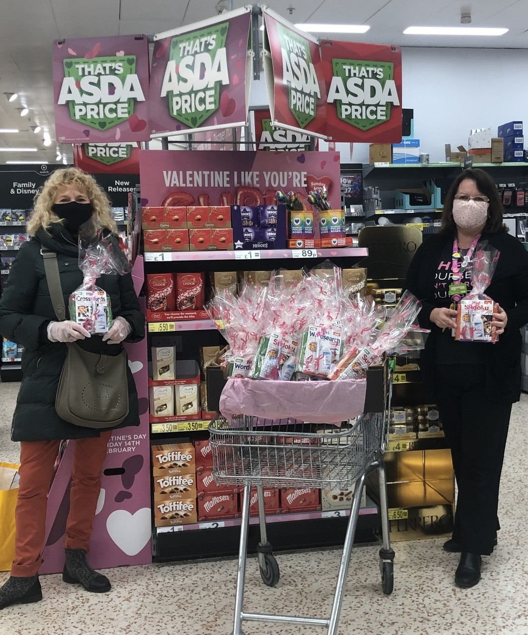 Donating to isolating friends | Asda Downpatrick