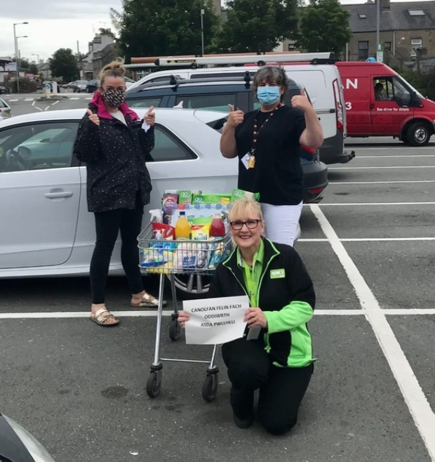 Thank you to key workers from Canolfan Felin Fach Centre | Asda Pwllheli