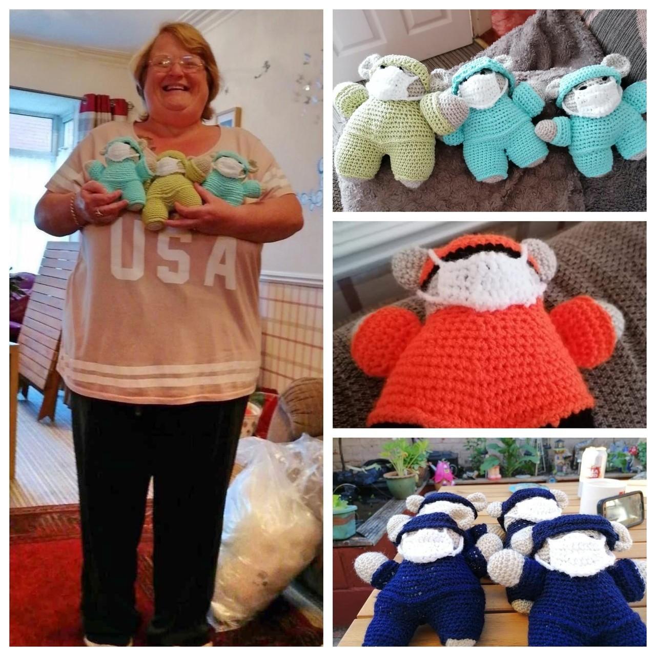 Talented Sandra from Asda Hessle helps NHS | Asda Hessle