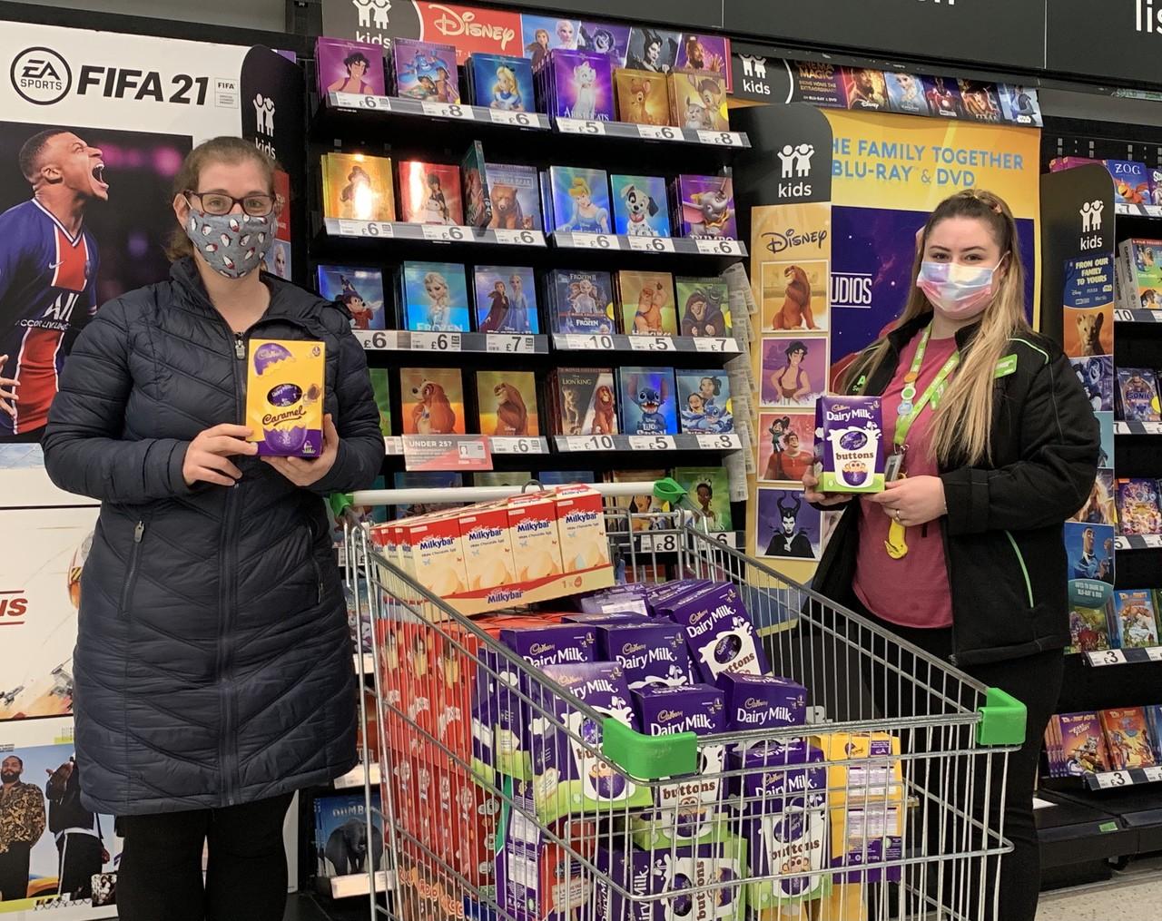 Easter donation to hospital | Asda Havant