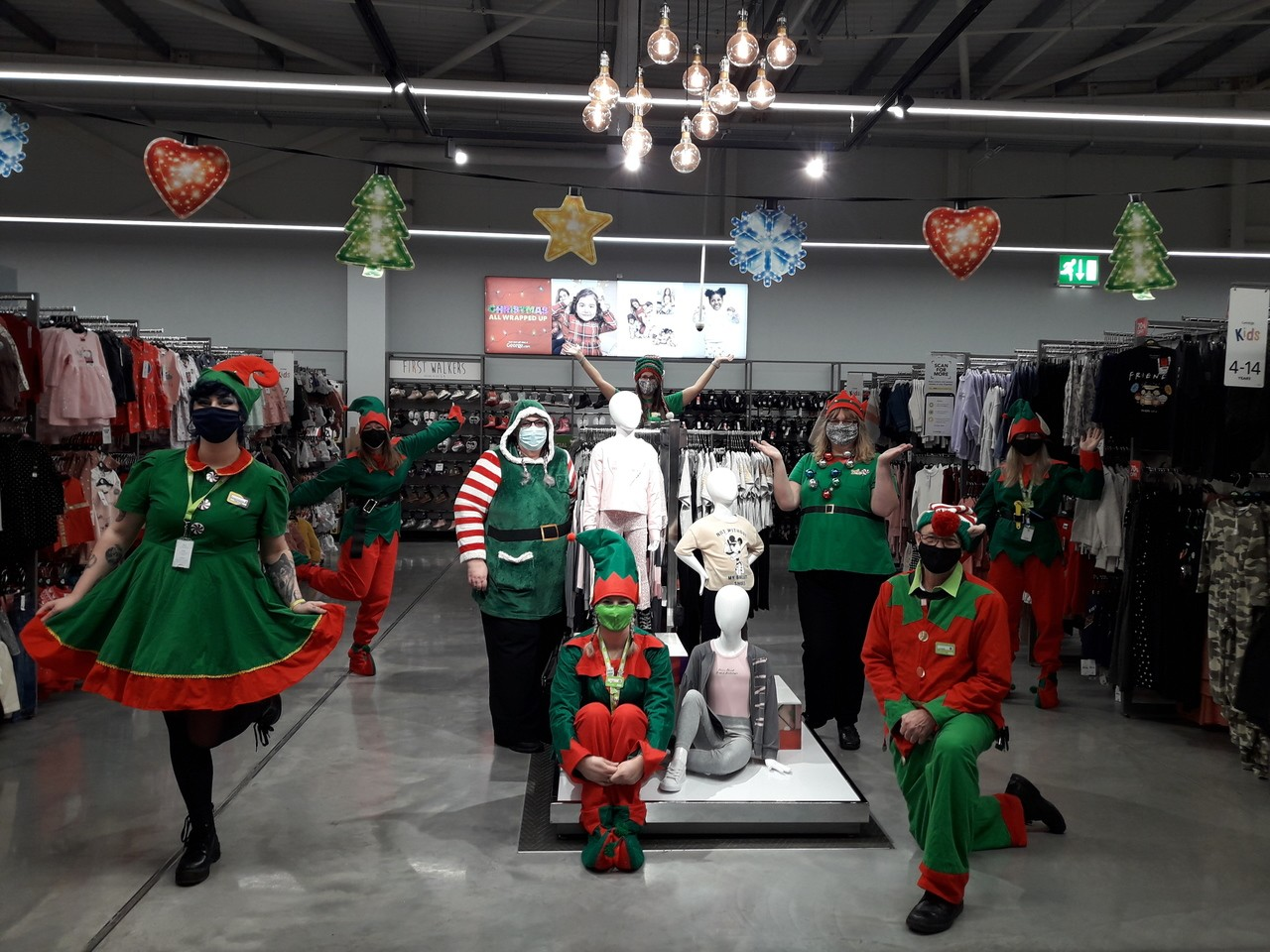 Festive elves invade Asda Barnstaple | Asda Barnstaple