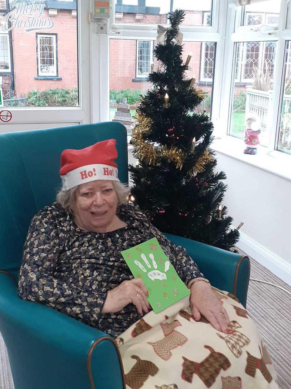 Christmas cards for Reinbeck Nursing Home | Asda Reddish