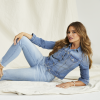 Sofía Vergara models items from her new denim brand, Sofía Jeans by Sofía Vergara