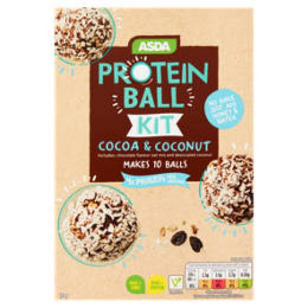 Asda Protein Ball Kit Cocoa & Coconut