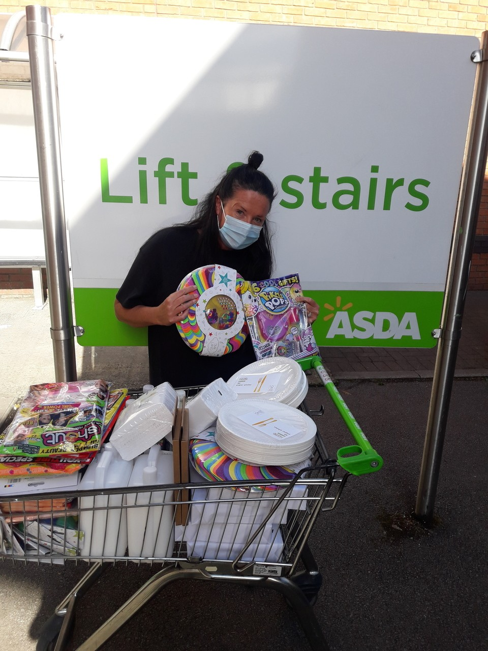 Saffron Young People's Project in store  | Asda Oadby