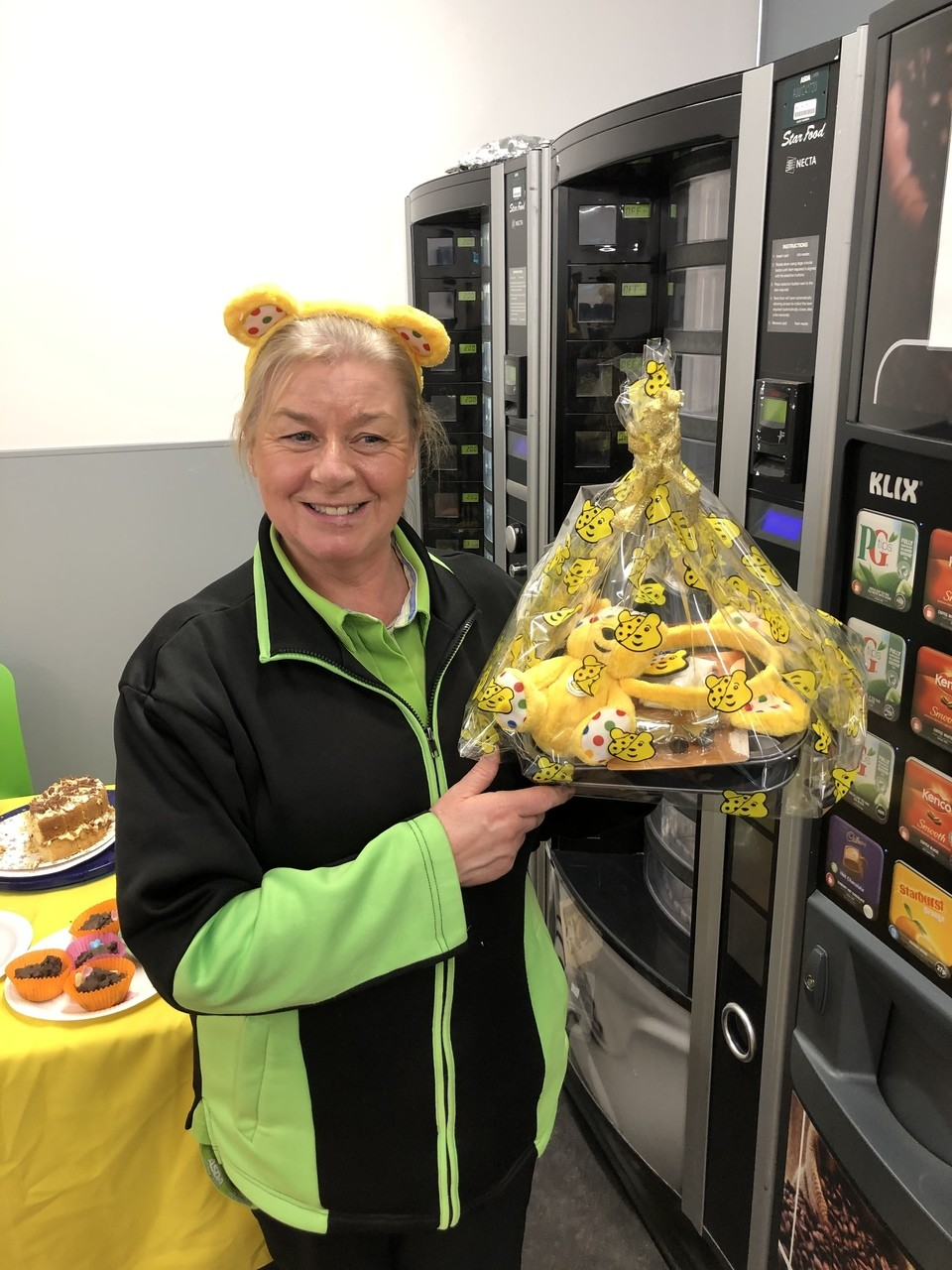 Happy winners of the bake off | Asda Portadown