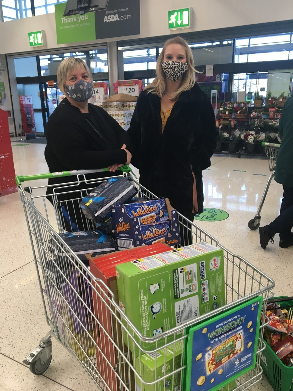 Supporting Women's Aid  | Asda Swindon Haydon