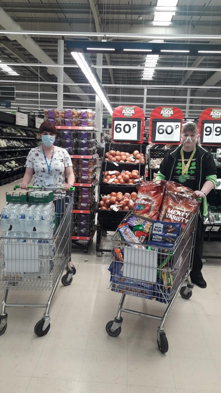 Treats for volunteers | Asda Wrexham