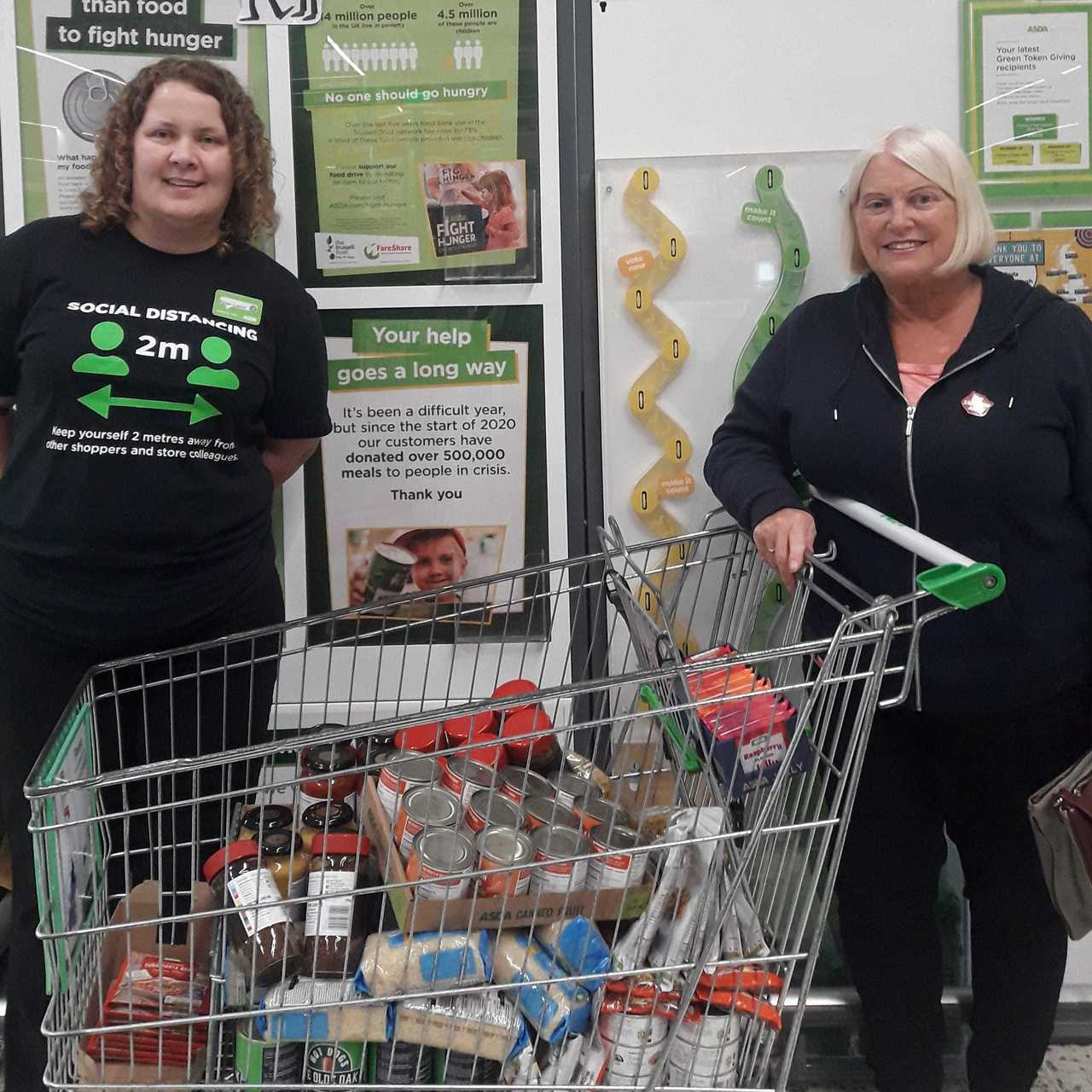 Donation to Rock Ferry Salvation Army  | Asda Bromborough