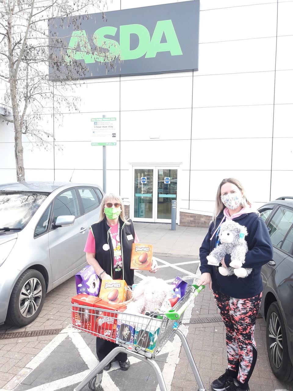 Donation to Beams | Asda Kingshill