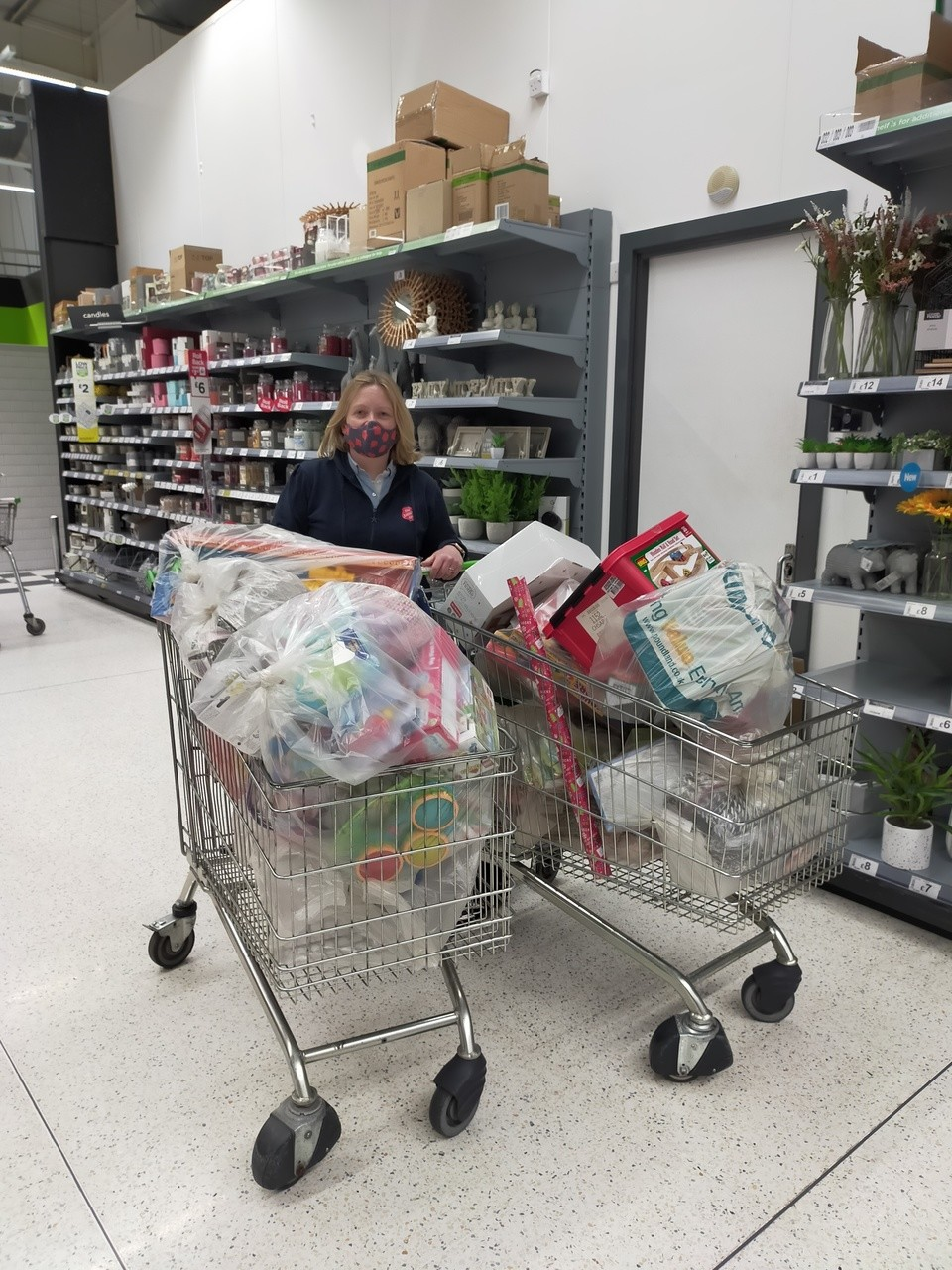 The Salvation Army Toy appeal | Asda Southport