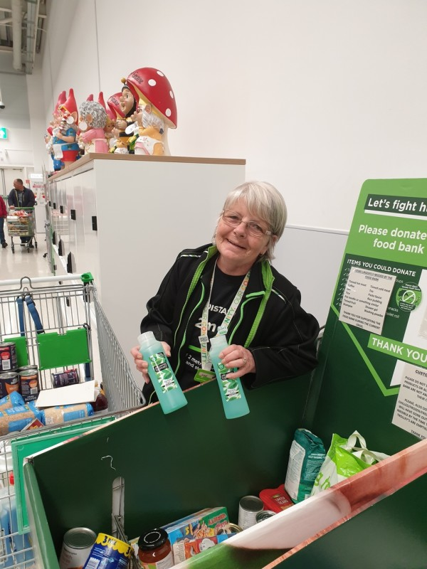 Supporting our food bank   Asda Hereford