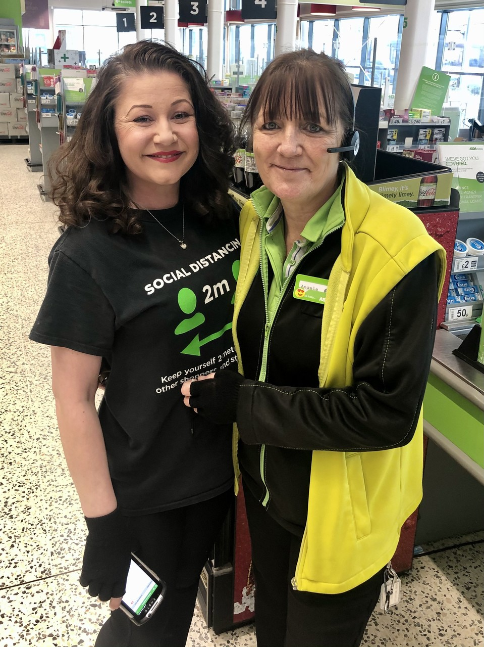 Happy Mother's Day Angela! | Asda Leicester Abbey Lane