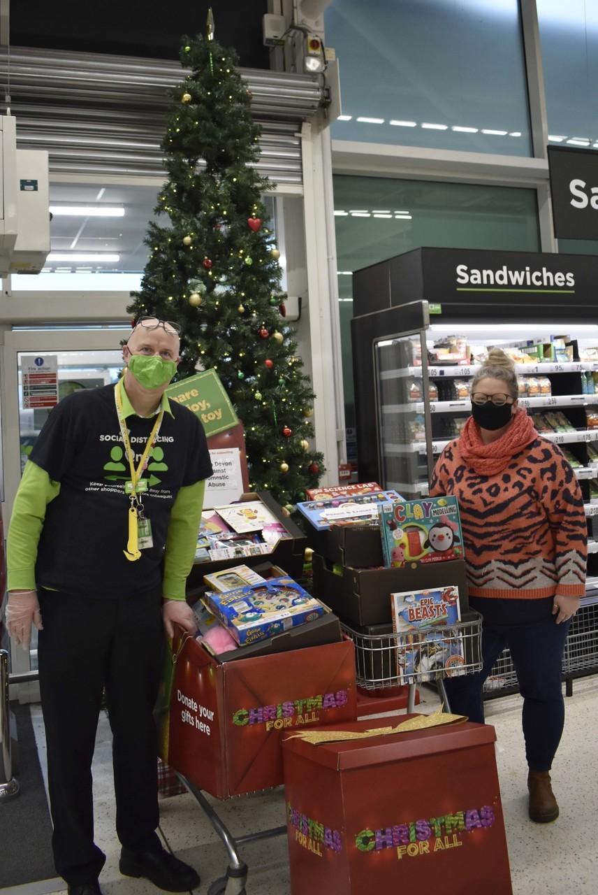 Thanks for supporting Asda Bideford's Christmas gift appeal | Asda Bideford