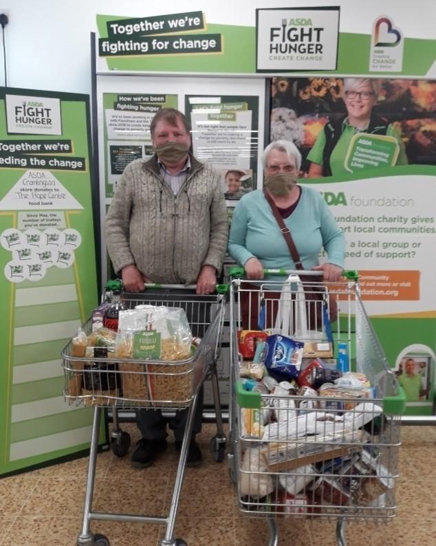 Foodbank support | Asda Cramlington