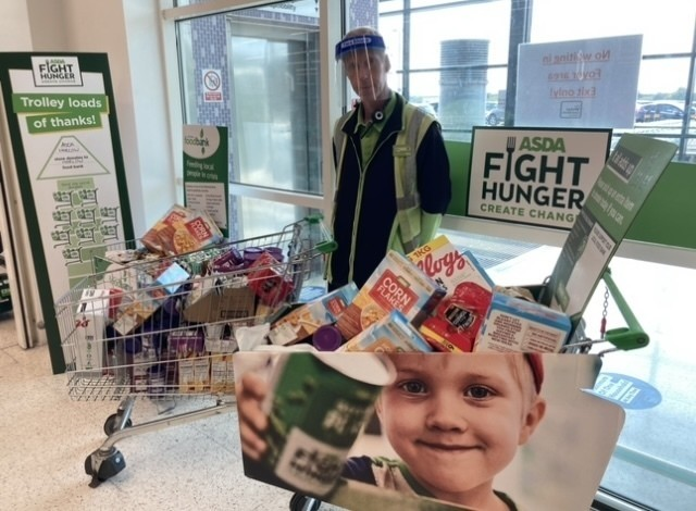 Harlow Foodbank donations   | Asda Harlow