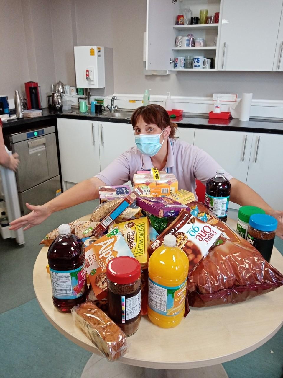Ward 75 Bristol Royal Infirmary donation. | Asda Bedminster