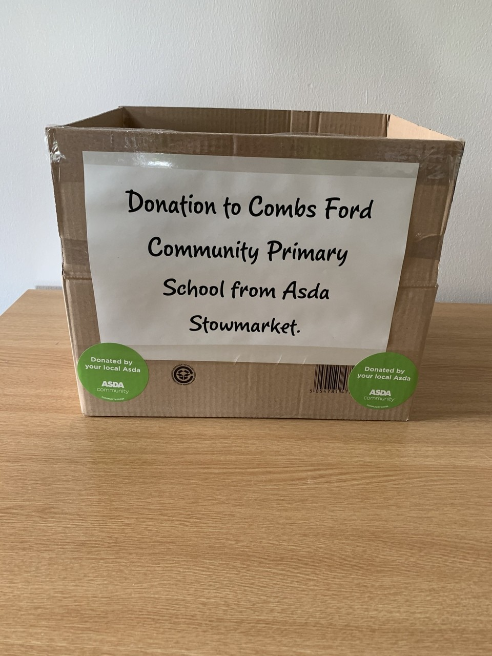 Donations to local primary schools  | Asda Stowmarket
