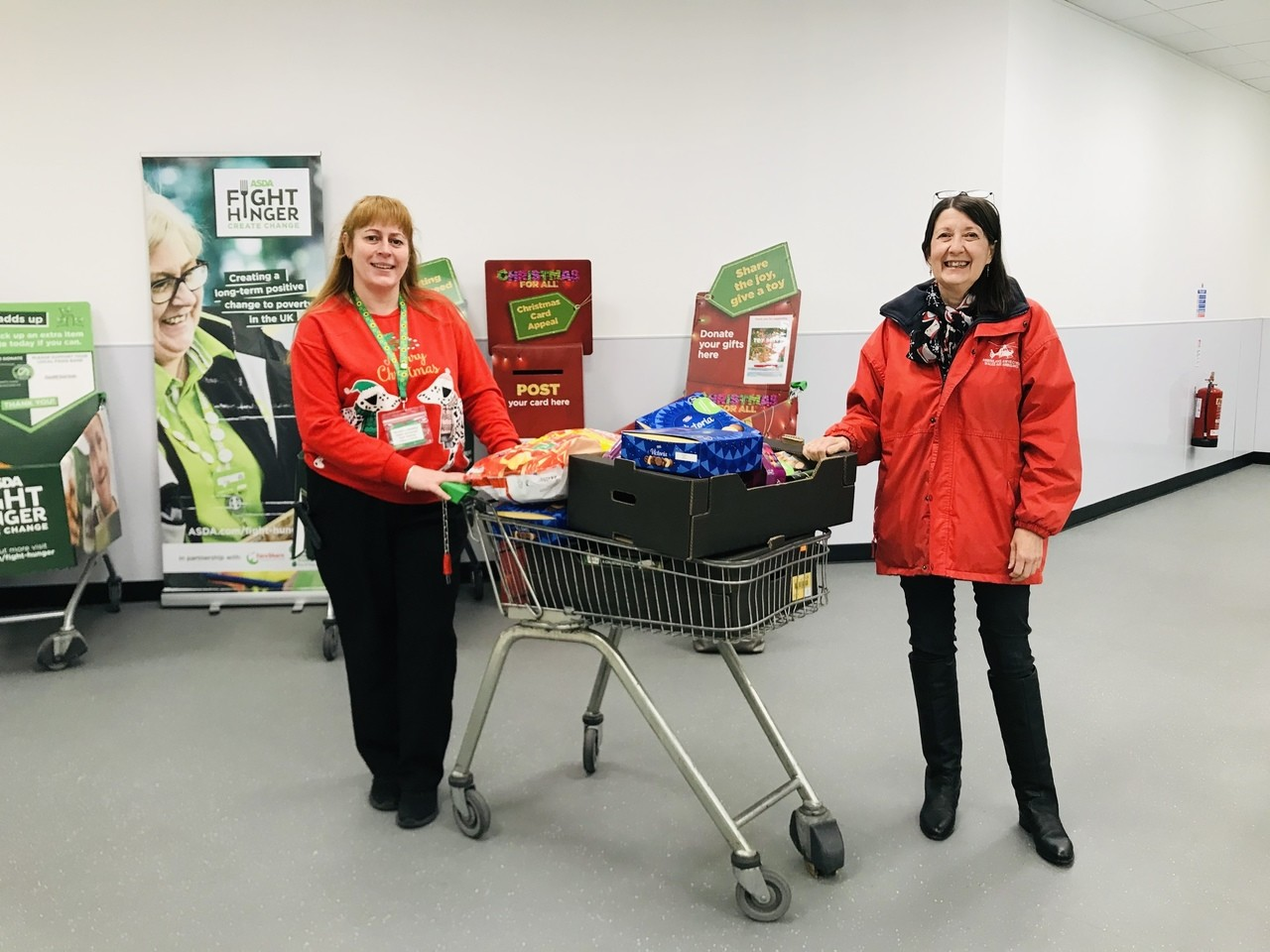 Donation  | Asda Cardiff Bay