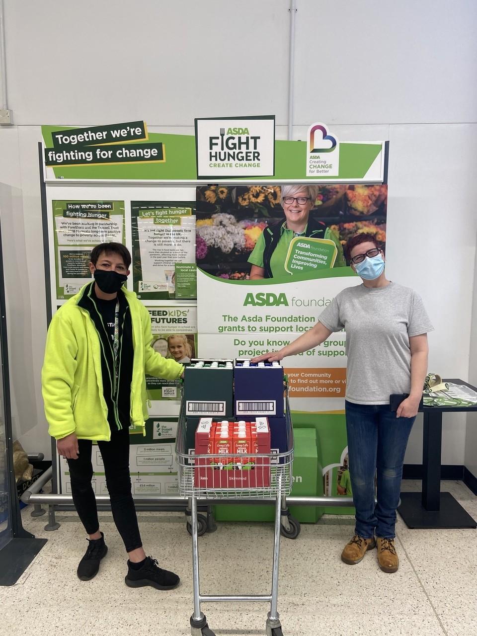 Preen Community Interest Group Donation | Asda Biggleswade
