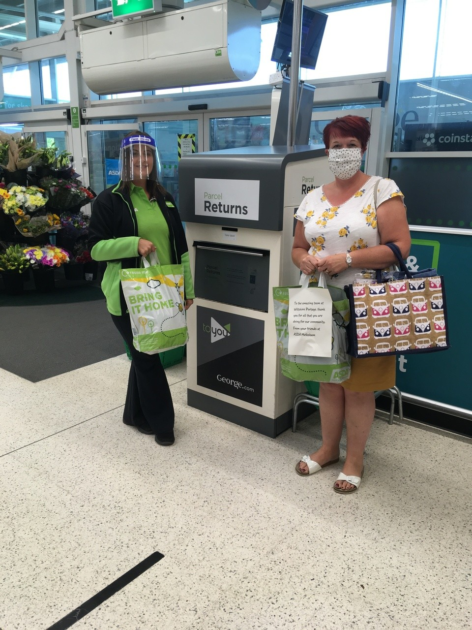 Wiltshire Portage thank you | Asda Melksham