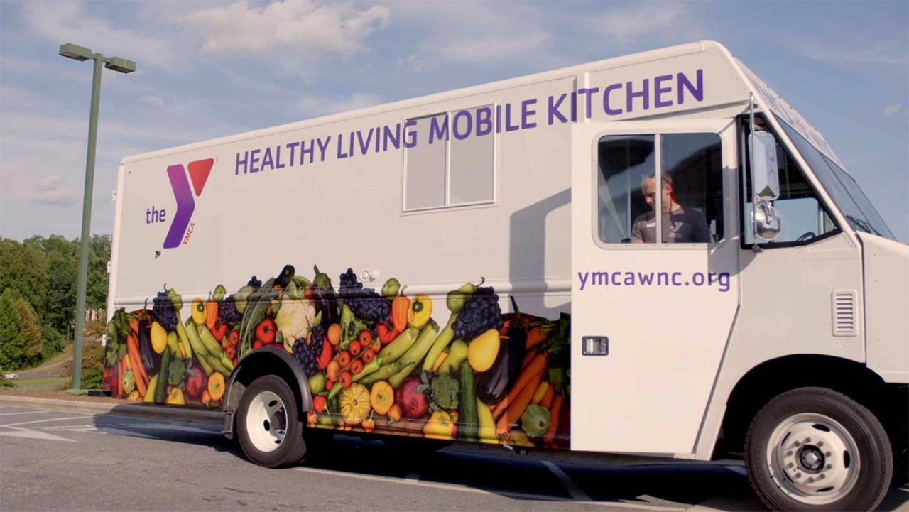 The Y Healthy Living Mobile Kitchen