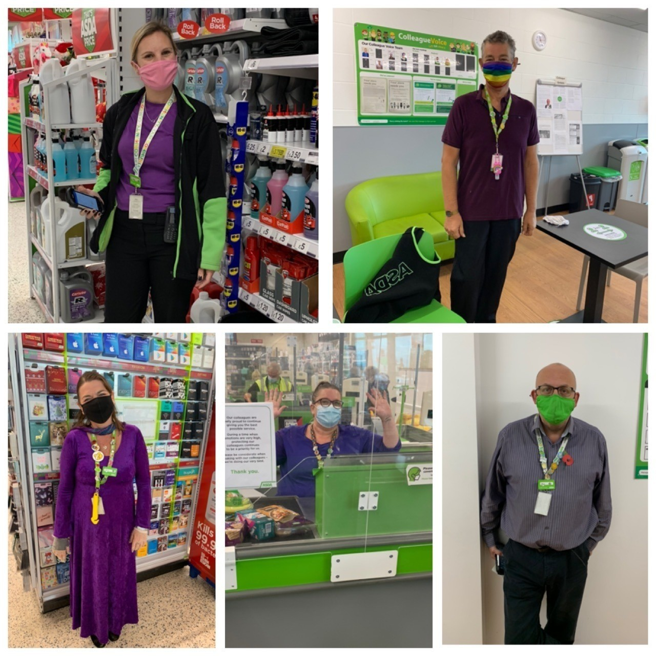 Purple Tuesday support | Asda Clacton-on-Sea