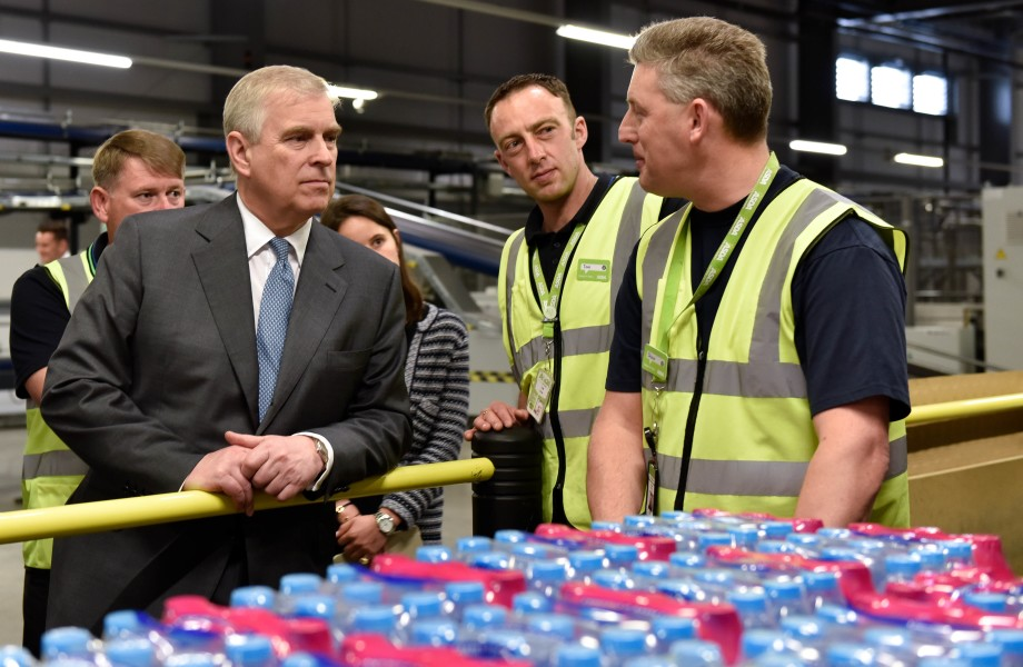 The Duke of York - Warrington visit 3