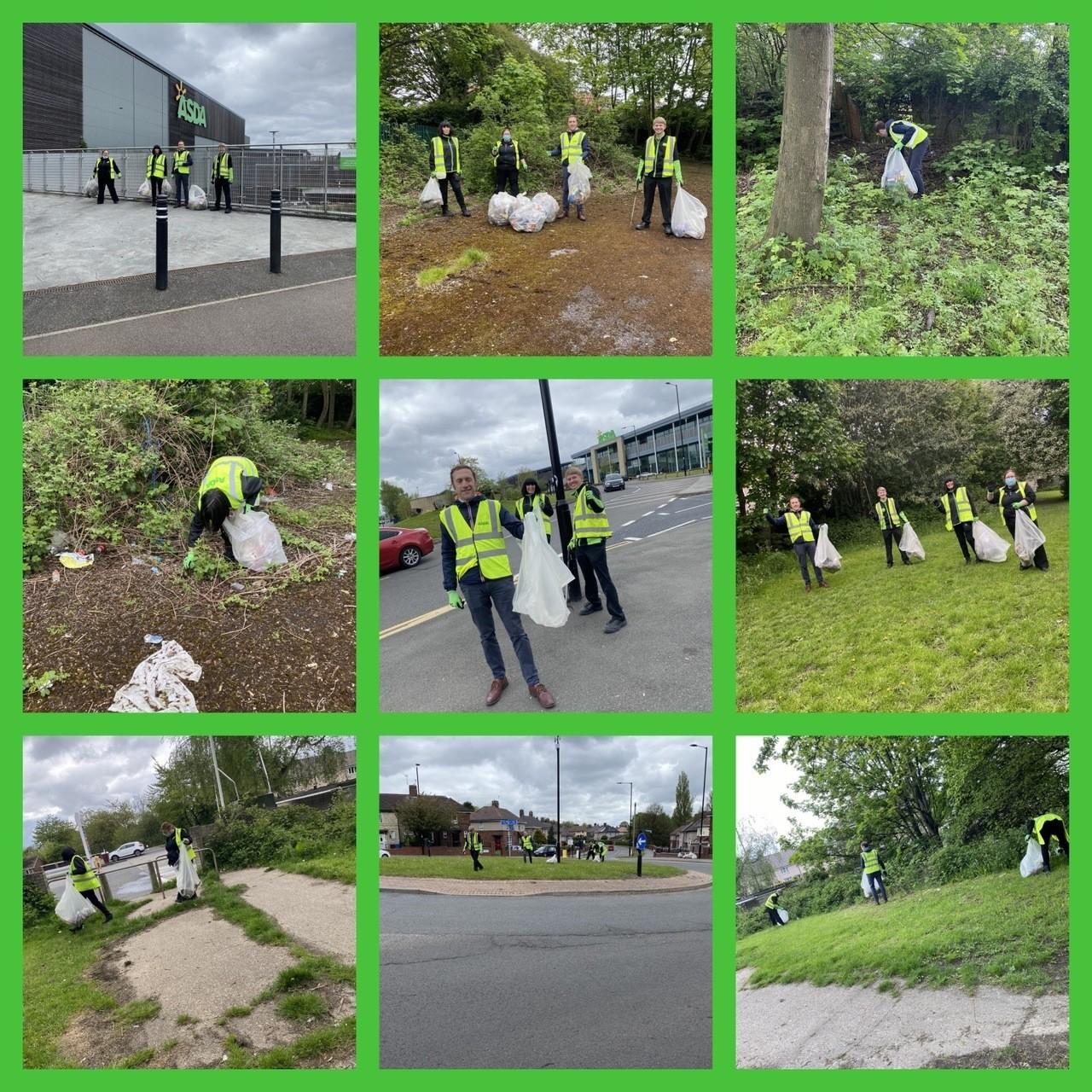 Big clean up | Asda Sheffield Chaucer Road