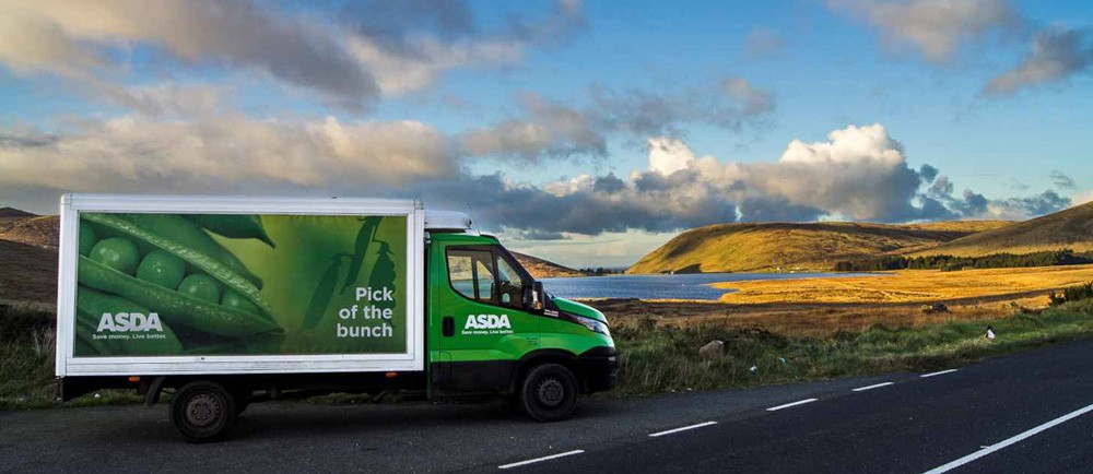 7d110b2335 Home shopping delivery driver Declan shares stunning photos of his route -  ASDA Corporate