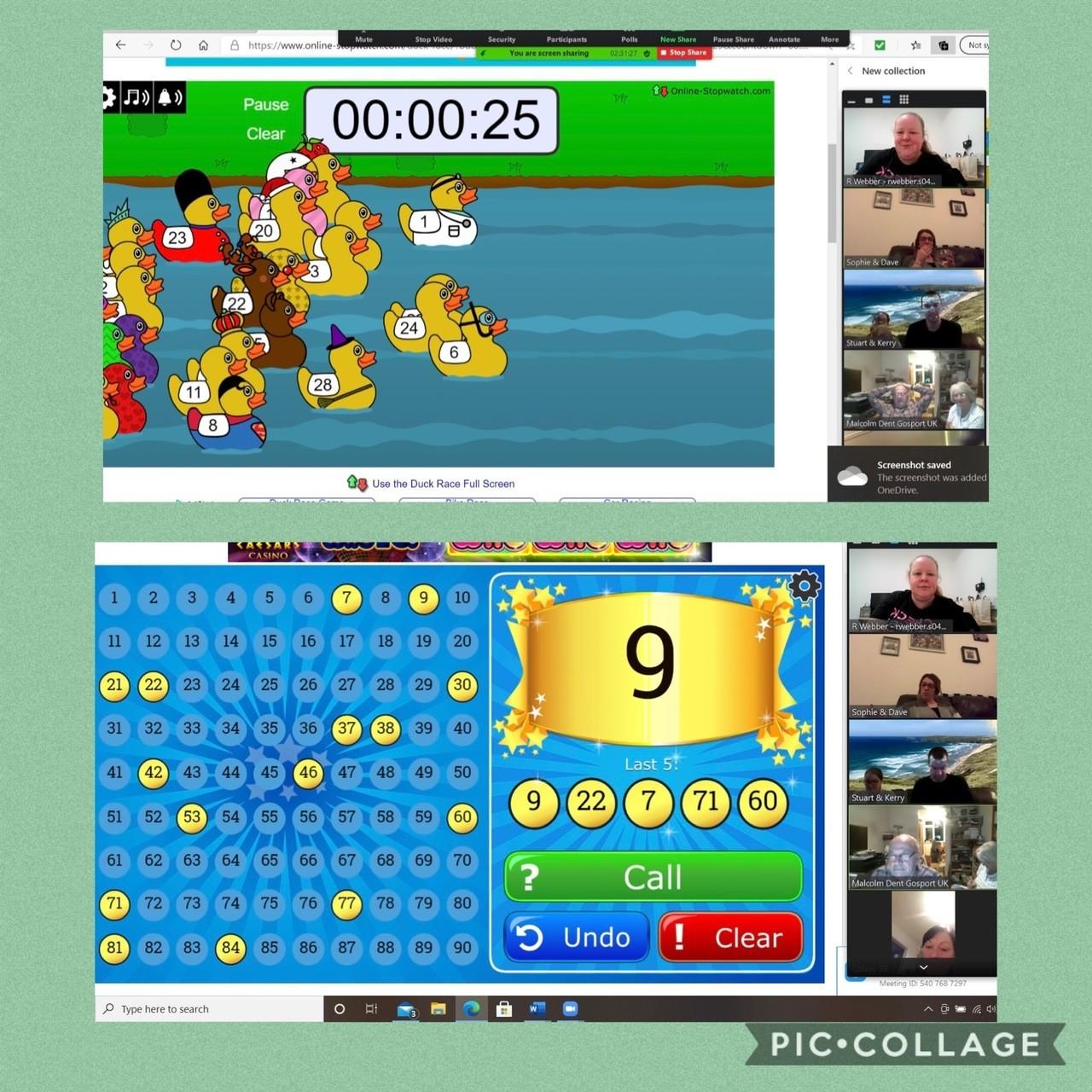 Zoom fun and games are so popular | Asda Gosport