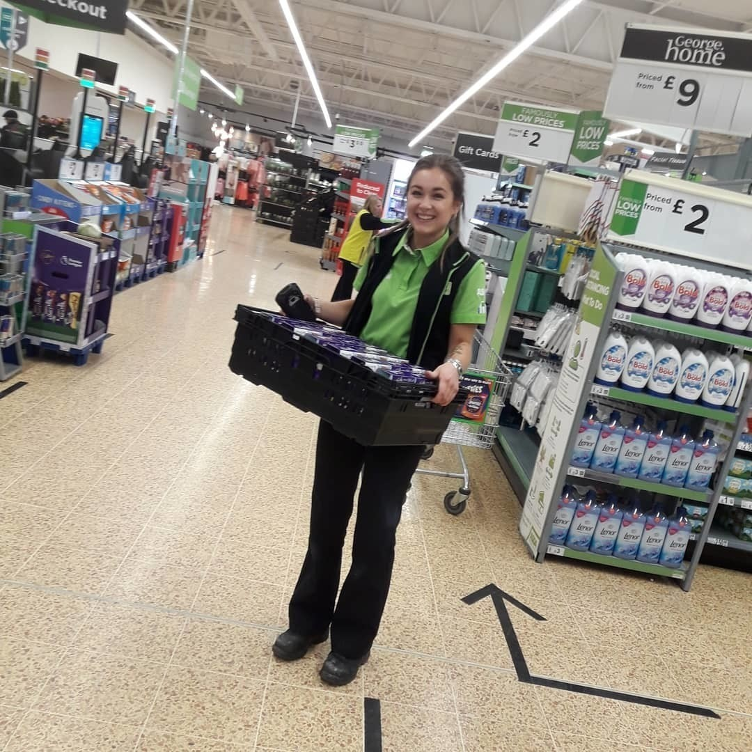 Monday  thanks! | Asda Warrington