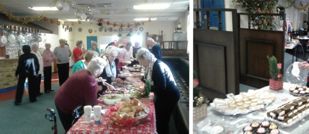 Leyton Pensioners' Association's Christmas party