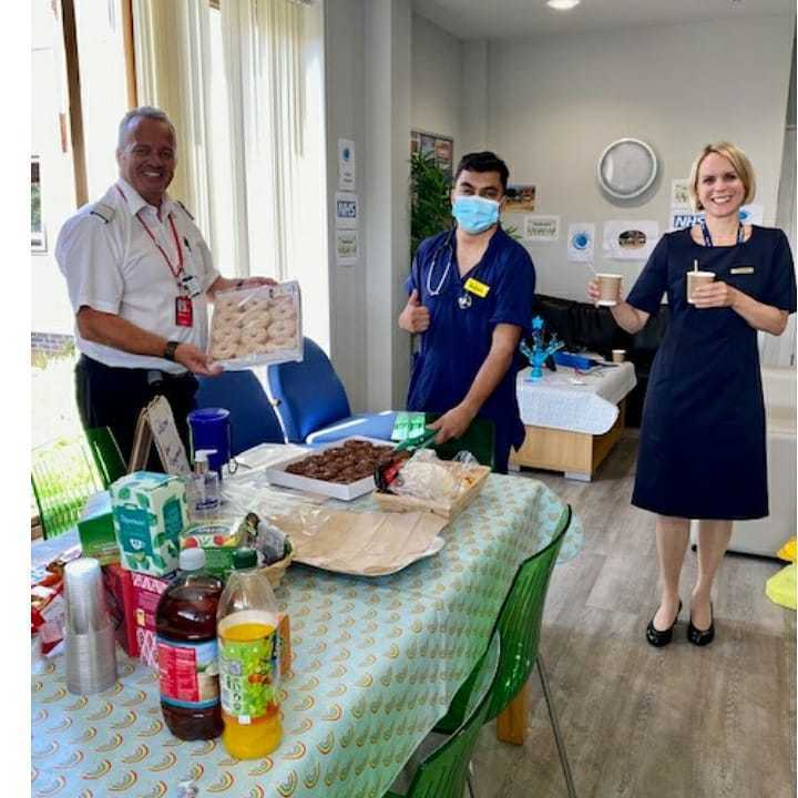 Donation of snacks to Hove Care Home via Project Wingman | Asda Brighton Marina