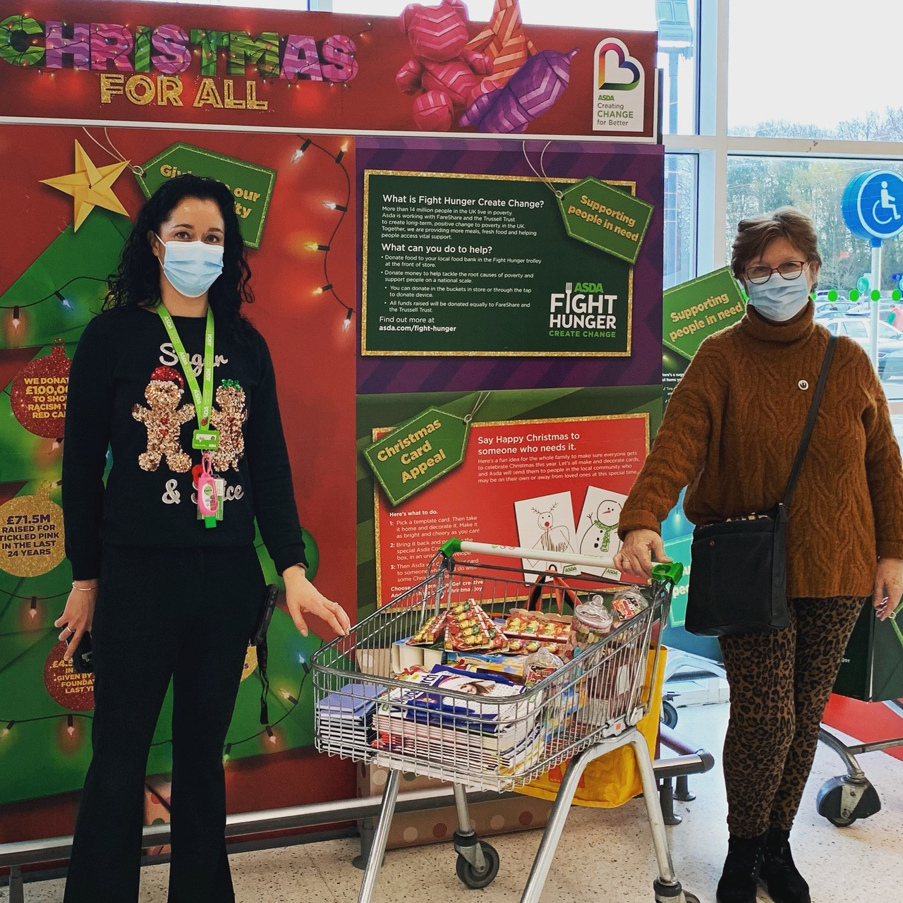 Christmas donation forWorld War 2 veterans | Asda Havant