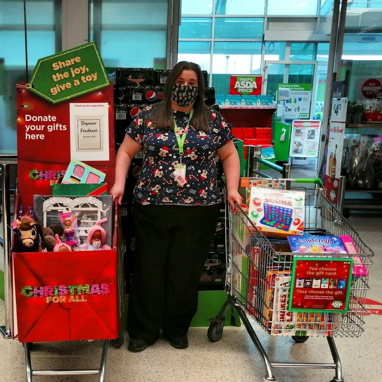 Thanks to all our kind customers and colleagues who've given to gift appeal  | Asda Skelmersdale