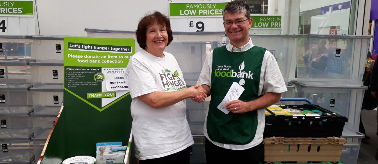 New Roles For Leeds North And West Foodbank Thanks To Asda